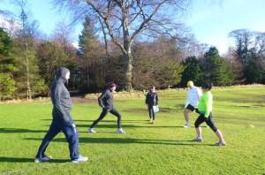 Jog Leader Course Outside