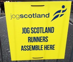 jogscotland start wave at the Great Edinburgh Run! 1
